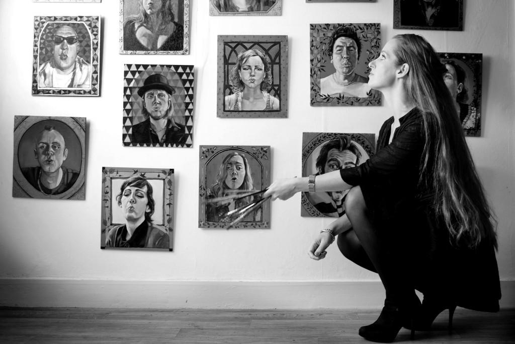 ElisaPesapane in atelier door Anke van der Meer (2)