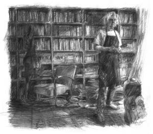 Berliner Reise: An afternoon in the Koloniestraße Library