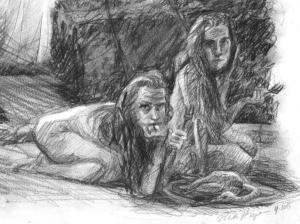 Detail of 'Berliner Reise': Pornocrates,