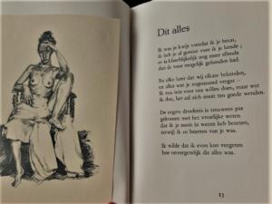 'Dit alles' - PARALLELLEN: Jean Pierre Rawie & Elisa Pesapane (2017), de Carbolineum Pers. Poetry by Jean Pierre Rawie & drawings by Elisa Pesapane on love & death