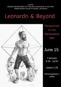 'Vitruvian Man 2019' for the 'Leonardo & Beyond' conference