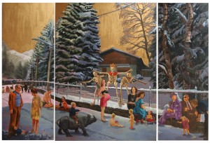 'The triumph of Death', triptych